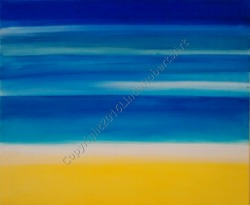 Beach Abstract Acrylic